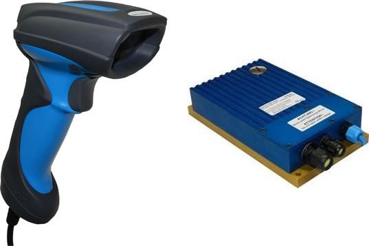New barcode scanner range